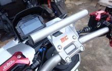 Selain Tampil Sporty Bracket Ponsel Khusus Honda ADV150 Dibutuhkan Saat Turing, Segini Banderolnya