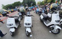 Enggak Nyangka, Ratusan Motor Listrik di Jakarta Sudah Mengaspal, Bebas Pajak dan Dapat Bonus Lainnya