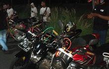 Cegah Balapan Liar, Polisi Bersama Tim Gabungan Periksa 28 Remaja Yang Nongkrong Dinihari di Bali