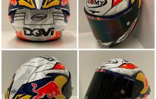 Ternyata Gak Dibuang, Doviziozo Pertahankan Lambang Kuda Hitam dan Putih di Helm untuk MotoGP 2020, Di Sini Letaknya