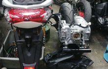 Bikin Heboh Belum Ada Plat Nomor Yamaha All New NMAX  Sudah Bore Up