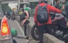 Street Manners: Ancaman Denda Sampai Penjara Incar Pemotor, Masih Berani Bongkar Separator Busway?