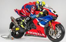 Penampakan Honda CBR WSBK 2020, Gak Segarang Honda MotoGP