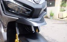 Pasang Moncong Bebek di Honda ADV150 Bikin Tampilan Jadi Mirip Moge Adventure, Segini Harganya