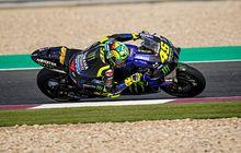 Dasar Valentino Rossi, Tetap Tenang Meski Kecelakaan dan Jadi Pembalap Yamaha Paling Buncit di Tes Pramusim Qatar