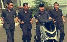 Begini Kalau Yamaha NMAX Lahir di Zaman Orde Baru, Dipakai Presiden Soeharto