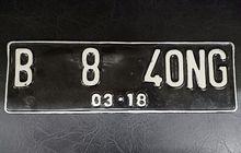 Polisi Incar 7 Ciri Pelat Nomor Kendaraan  Untuk Ditilang Dengan Denda  Setengah Juta Rupiah