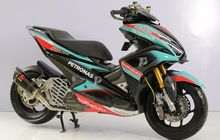 Modifikasi Motor Yamaha Aerox 155 Tercanggih di Medan, Acuannya MotoGP
