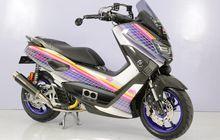 Modifikasi Motor Yamaha NMAX Bergaya Street Fashion, Anak 90-an Pasti Paham