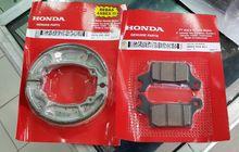 Segini Harga Kampas Rem Honda BeAT dan Motor Matic Honda Lainnya, Bisa Saling Tukar Bro!
