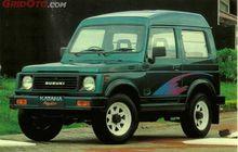 Terkenal Sebagai Mobil Off Road, Suzuki Katana Versi Roda Dua Gak Kalah Bengis, Desainnya Macho