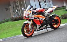 Proses Airbrush Sampai Satu Bulan, Begini Hasil Modifikasi Honda CBR1000RR dari Penggemar Marc Marquez
