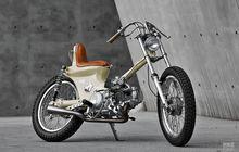 Mirip Motor Pak Jokowi! Bengkel Custom Ini Bikin Motor Chooper Berbasis SYM, Desainnya Bikin Gemes
