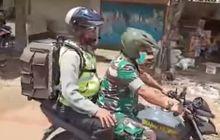 Sedih, Polisi yang Rajin Sosialisasi Waspada Corona ke Rumah Warga Tutup Usia, Motor Oleng Saat Hujan Deras