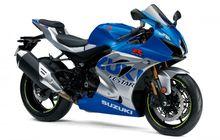 Bikin Bikers Baper, Suzuki GSX-R1000R Meluncur Pakai Livery Suzuki Ecstar, Macho Banget