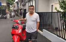 Mengejutkan, Dilelang Untuk Bantu Tenaga Medis Berjuang Lawan Corona, Vespa GTS 150 Milik Abdel Achrian Laku Segini