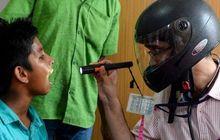 Miris, Tenaga Medis Berjuang Hanya Dengan Menggunakan Helm Full Face dan Jas Hujan Untuk Melawan Virus Corona