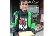Netizen Terharu, Driver Ojol Rela Lindungi Makanan dari Semprotan Disinfektan Sampai Dipuji Najwa Shihab, Ternyata Begini Faktanya