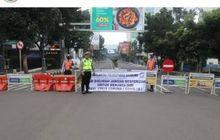 Pengendara Motor Wajib Tau, Sampai Hari Ini,Sejumlah Jalan di Bandung Berlaku Buka Tutup
