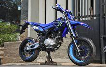 Keren Banget Modifikasi Yamaha WR 155R Supermoto Pakai Swing Arm Aprilia SXV