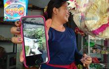 Bali Mendadak Geger, Seorang Pria Naik Motor Terjun ke Sungai Gara-gara Tali Gas Tersangkut Saat Putar Balik
