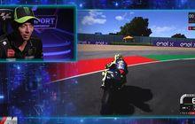 Valentino Rossi Akhirnya Mau Balap MotoGP Virtual Race Kedua, Ini Video Saat Dirinya Menaklukan Sirkuit Misano
