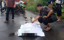 Ngeri! Dua Pemotor Paruh Baya Duel Celurit di Sidoarjo, Satu Pria Tewas Bersimbah Darah