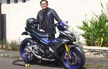 Modifikasi Yamaha MX King 150 Paling Hedon, Full Kaki-kaki Moge Eropa