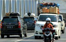 Pintu Tol Diblok Pemudik yang Menggunakan Motor Harus Waspada Terkena Imbas Penyekatan Arus Balik