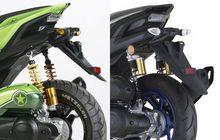 Modal Gerinda Bisa Cukur Sepatbor Belakang, Bikin Tampilan Yamaha Aerox Makin Seksi