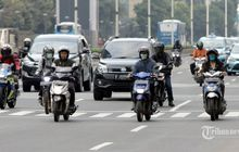 Awas Kena Semprit Polisi! Siap-siap Motor Sekarang Kena Aturan Ganjil Genap di Jakarta