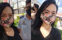 Tambah Lagi Cewek Cakep Bikin Petugas PSBB Gagal Fokus, Video Razia Dibuat Live
