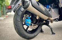 Merek Lain Bisa Mentok Pelek, Kaliper Belakang Ini yang Cocok Dipasang di Yamaha All New NMAX Tanpa Ubahan!