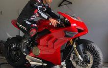 Gokil Nih, Johann Zarco Akhirnya Latihan Ngegas Motor, Naik Motor Yang Julukannya Ratu Jalanan