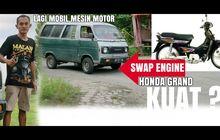 Orang Indonesia Duluan Modif Mobil Mesin Motor, Muat 7 Orang