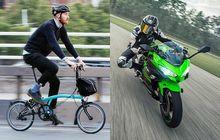 Meski Harganya Setara Kawasaki Ninja 250, Ini Alasan Bikers Suka Sepeda Brompton