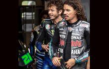 Kejadian, Valentino Rossi Dikalahkan Murid Duluan ke Petronas Yamaha