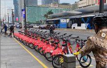 Gak Usah Nyewa Motor Di Jakarta, Sekarang AdaLayanan Bike Sharing Di 9 Titik Parkir Sepeda Gowes