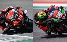 Duel Sesama Pemakai Helm Buatan Indonesia, Aprilia Versus Ducati