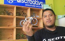Pembalap Alex Marquez Pernah Beli, Miniatur Sepeda Buatan Pemuda Karawang Ini Mendunia, Omzet Perbulannya Bikin Melongo