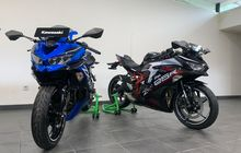 Gokil Bro! Warna Kawasaki Ninja 250 4 Silinder Alias ZX-25R Ada yang Mirip Motor 2-Tak