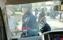 Pemotor Sok Jagoan Bisa Dipenjara atau Kena Denda, Ngamuk dan Tantang Sopir Ambulans Ribut, Ini Aturannya