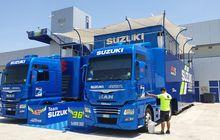 Berangkat dan Tiba Duluan di Jerez, Penampakan Paddock Suzuki MotoGP