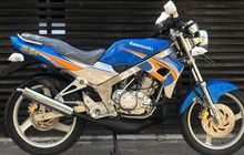 Masih Diplastikin Harga Motor 2-Tak Kawasaki Ninja 150 R Tembus Rp 90 Jutaan, Orisinal atau Restorasi?