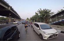 Bikers Hampir Nabrak, Video Pesepeda Bule Ngebut Lawan Arah Di Tengah Jalan Viral Disosmed