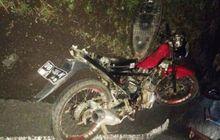 Warga Berhamburan, Suzuki Satria FU150 Berantakan Hajar Yamaha V-Ixion, Sebelum Adu Banteng Sukses Salip Truk