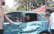 Gara-gara Gak Terima Ditegur, Sopir Mobil Ugal-ugalan Tabrak Polisi Naik Motor Hingga Tewas