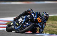 Hasil FP1 Moto2 Teruel 2020, Luca Marini Tancap Gas Kejar Tercepat, Pembalap Indonesia Andi Gilang Nyaris Finish Terakhir?