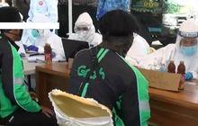 Gawat, Dua Driver Ojek Online PositifCovid-19 Dari Hasil Swab Test Sebelum Boleh Mengangkut Penumpang
