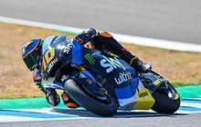 Hasil FP2 Moto2 Emilia Romagna 2020, Luca Marini Tembus Waktu Tercepat, Pembalap Indonesia Andi Gilang Gimana Nih?